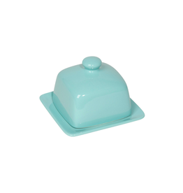 DCA - Butter Dish / Square, Blue