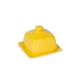 DCA - Butter Dish/Square, Lemon