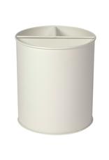 DCA - Utensil Pot / Divided, Matte White