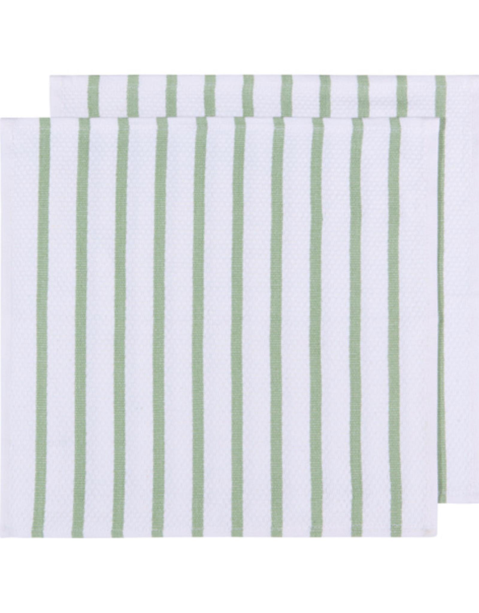 DCA - Dish Cloth / Set 2, Basketweave, Moss