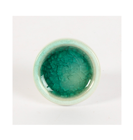 CJM - Knob / Teal Vein, Ceramic