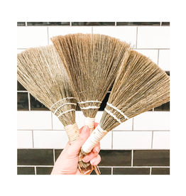 COP - Whisk Broom / Set 3, White Handle