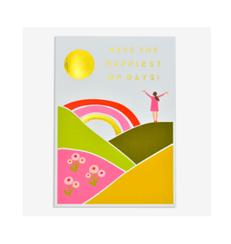 """PPS - Card / Have the Happiest of Days, 4.75 x 6.75"""""""