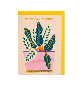 """PPS - Card / Home Sweet Home, 5 x 6.75"""""""