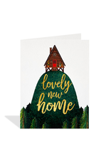 """PPS - Card / Lovely New Home, 4.25 x 5.5"""""""