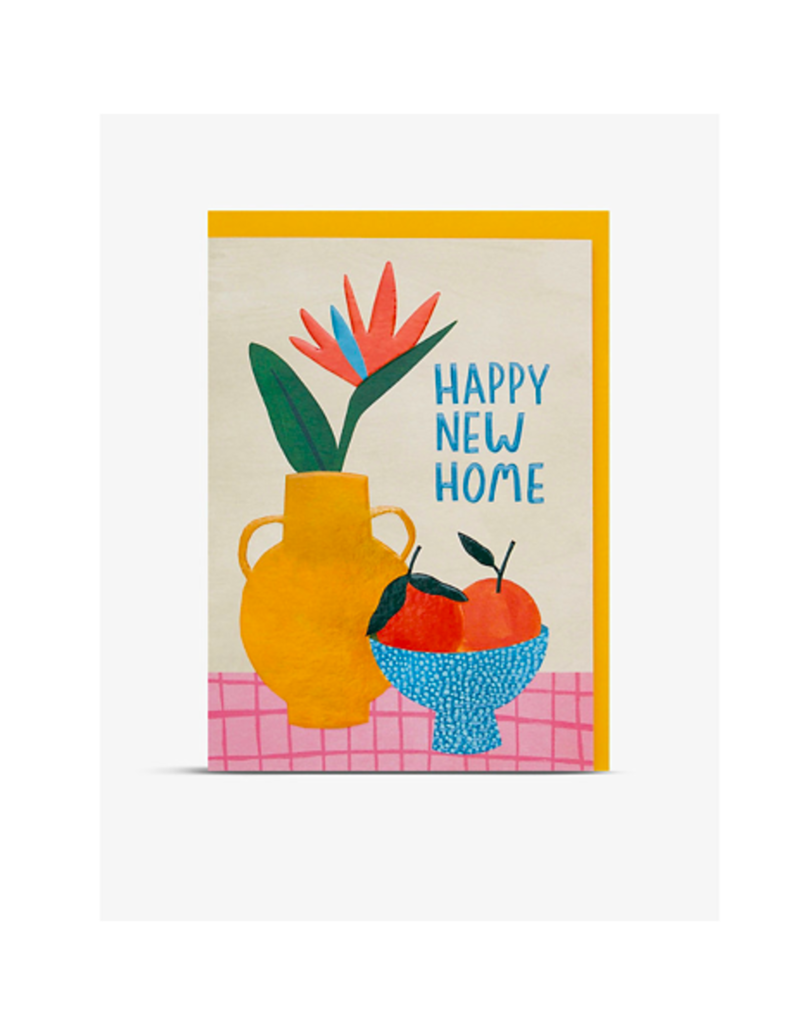 """PPS - Card / Happy New Home, 5 x 6.75"""""""