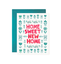 """PPS - Card / Home Sweet New Home, 4.25 x 5.5"""""""