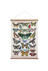 """COP - Canvas Banner / Butterfly Scroll, 29 3/4"""" x 41 1/2"""""""