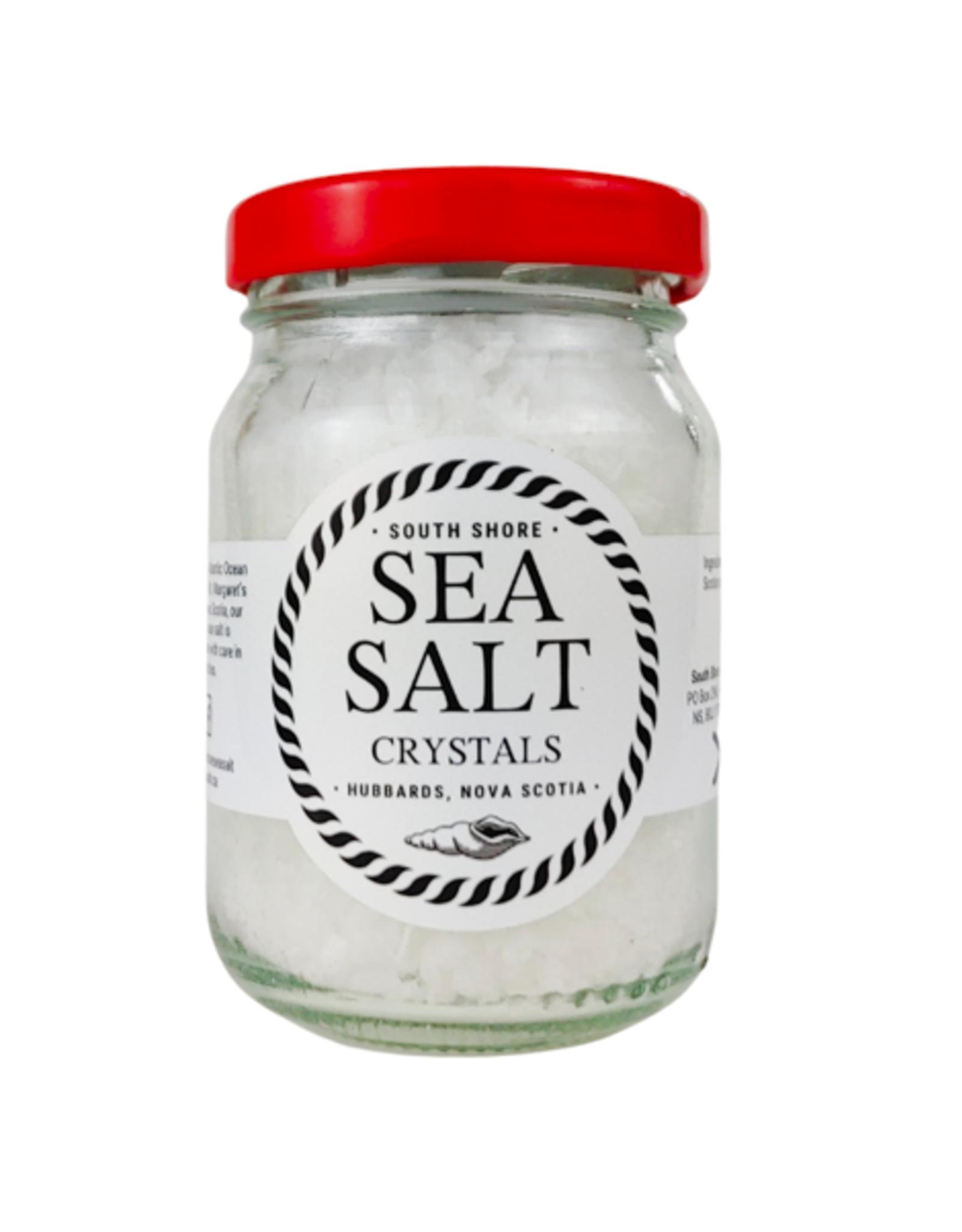 South Shore Sea Salt / Finishing Salt,  Crystal Sea Salts, 75g