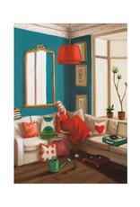 "Janet Hill - Art Print / Haight Ashbury, 8.5 x 11"""
