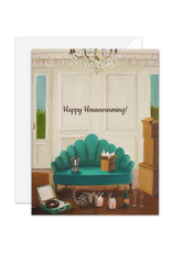 "Janet Hill - Card / Happy Housewarming! 4.25 x 5.5"""
