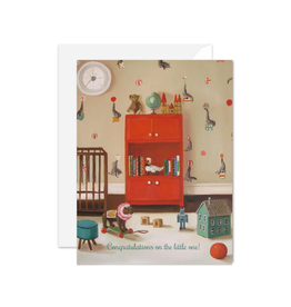 """Janet Hill - Card / Congratulations on the Little One! 4.25 x 5.5"""""""