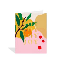 """PPS - Card / Joy Joy Joy Joy, 4.25 x 5.5"""""""