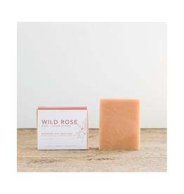 Wildwood Creek - Bar Soap / Wild Rose, 4.7oz