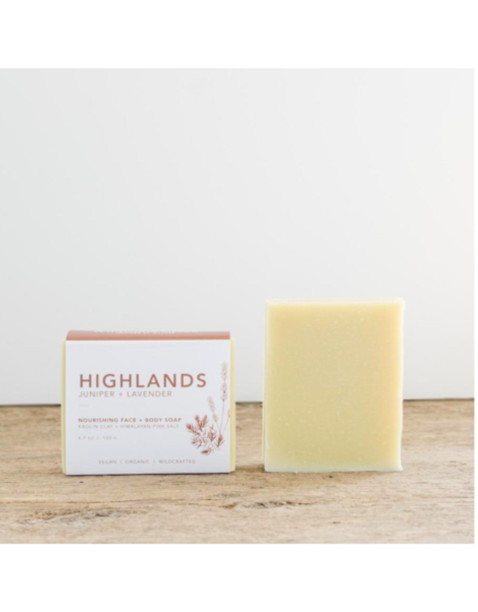 Wildwood Creek - Bar Soap / Highlands, 4.7oz