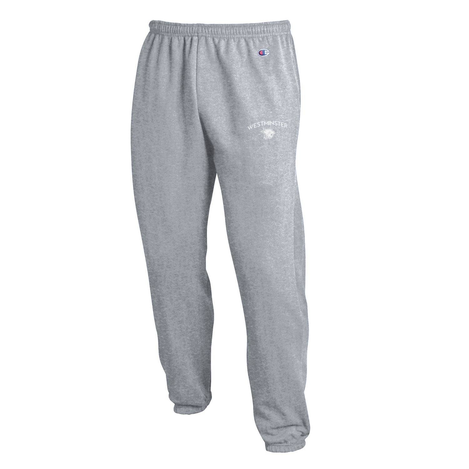 Champion Sweatpants: Champion  Light Gray Elastic