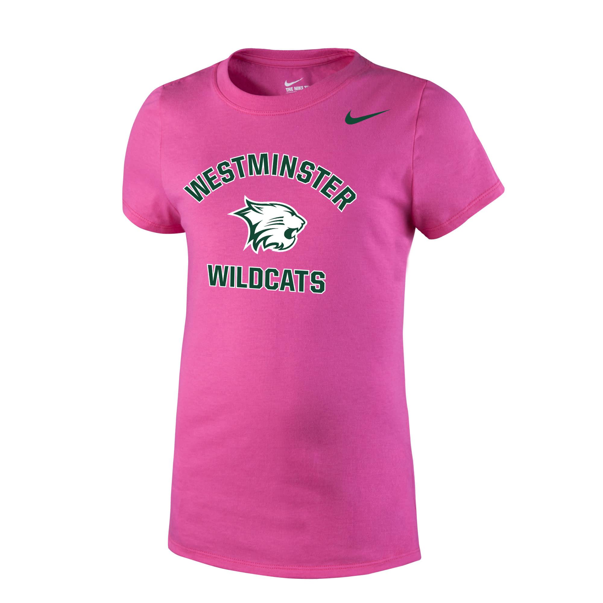 Nike T: Nike Girls Vivid Pink