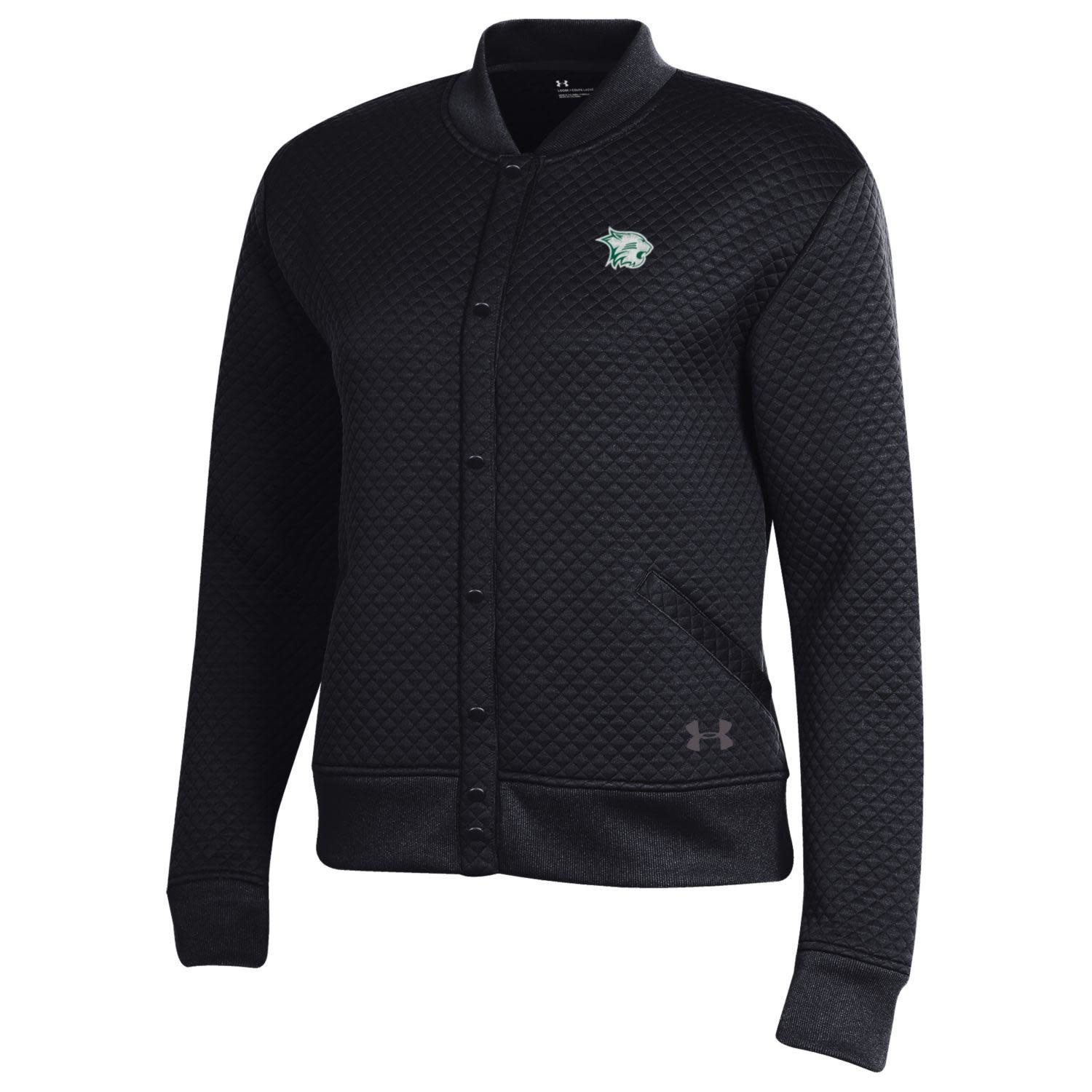 Under Armour Jacket: UA Women's Bomber Black
