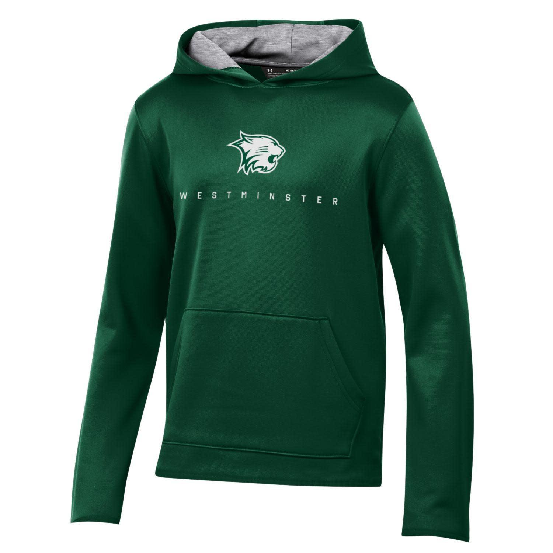 Sweatshirt: UA Dri-fit Hoody Cat over Small WM