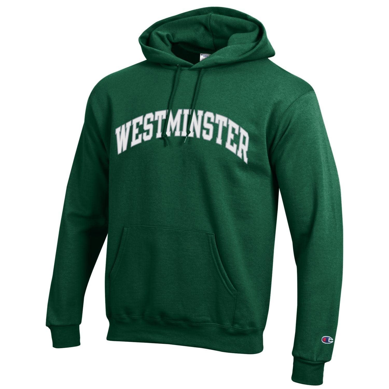 Champion Sweatshirt: Champion Hooded Green