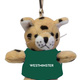 Keychain: Mini Plush Wildcat