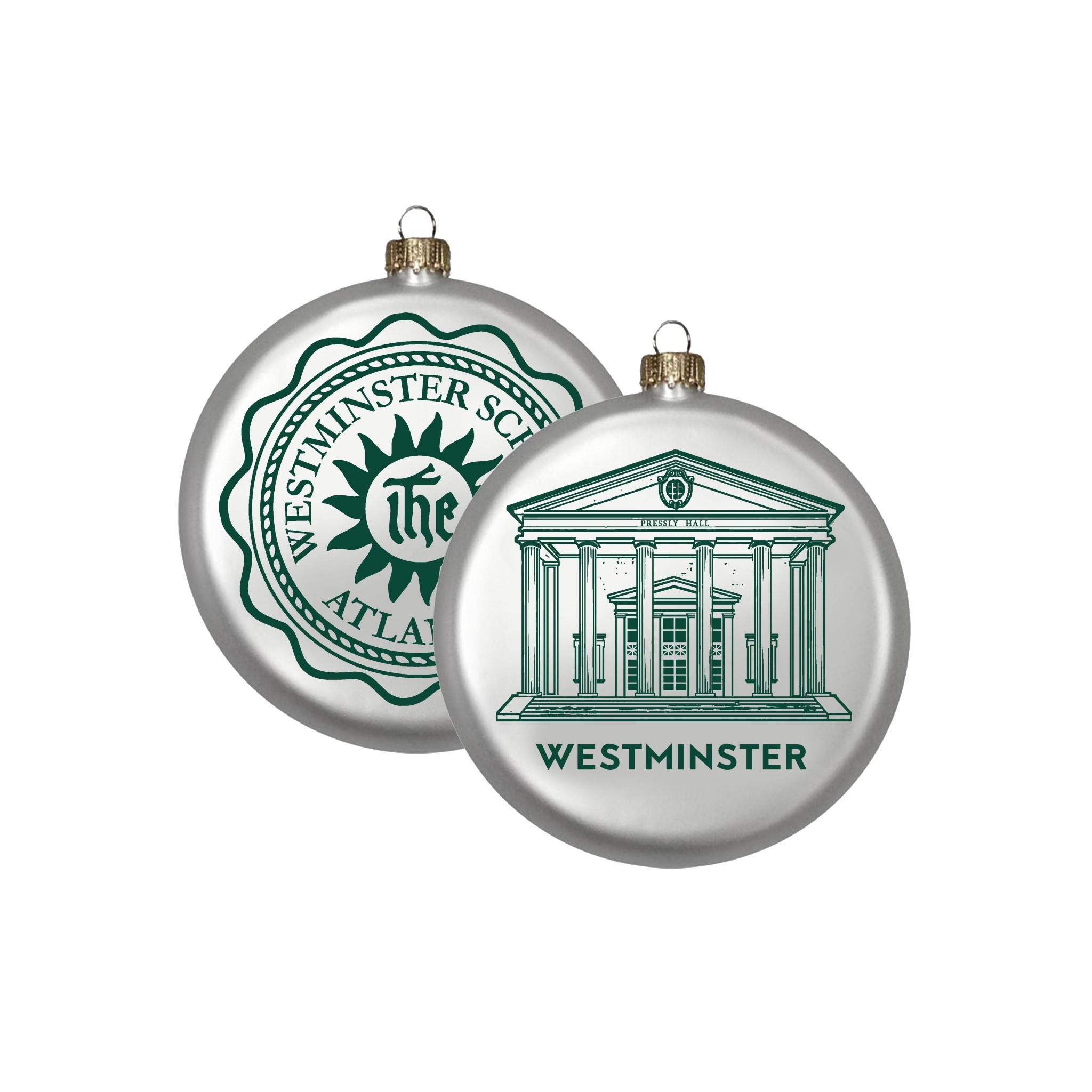 Lindsay Designs Ornament: Westminster Pressly Hall/Seal