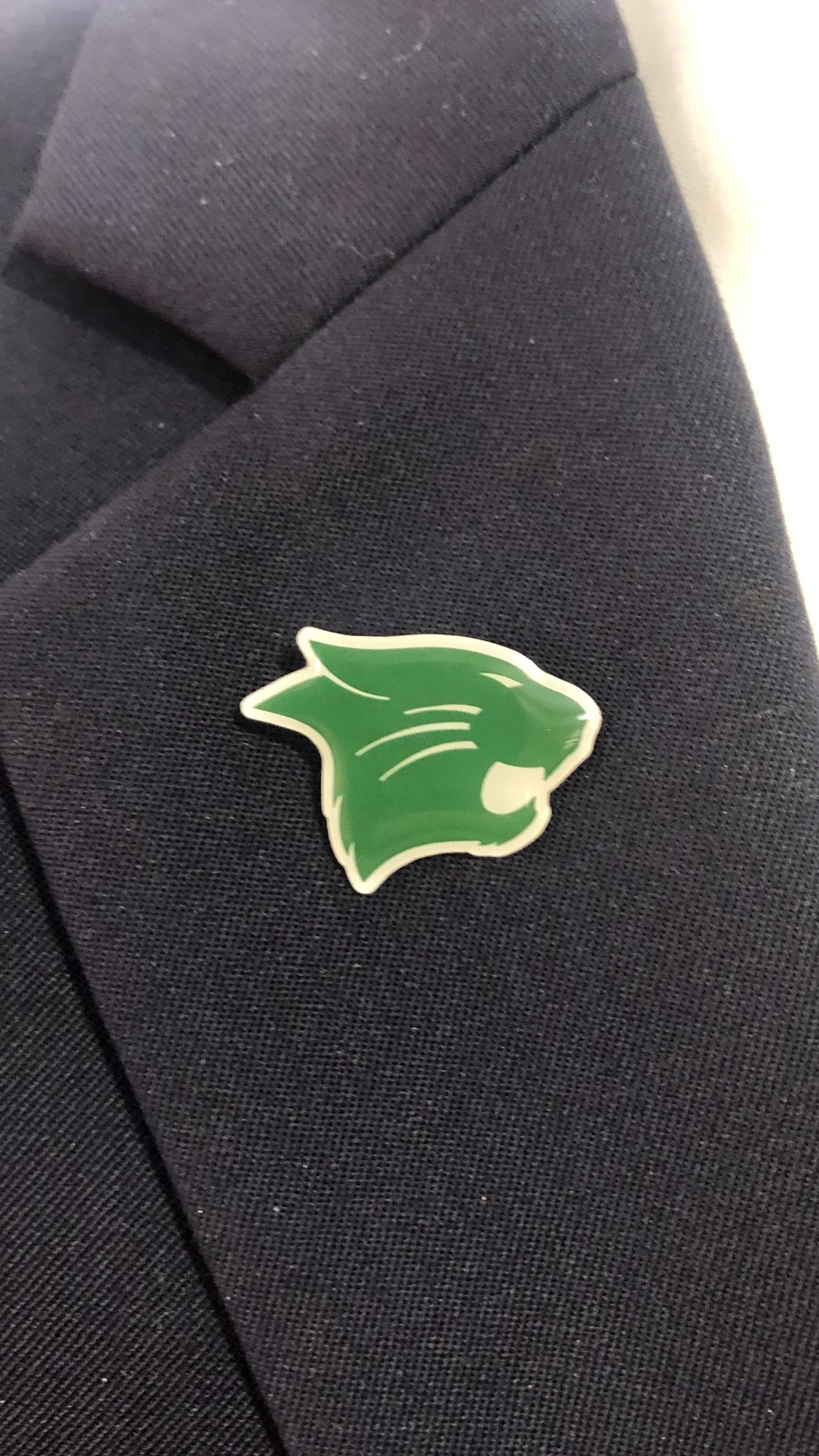 Lapel Pin: Westminster Wildcat Head