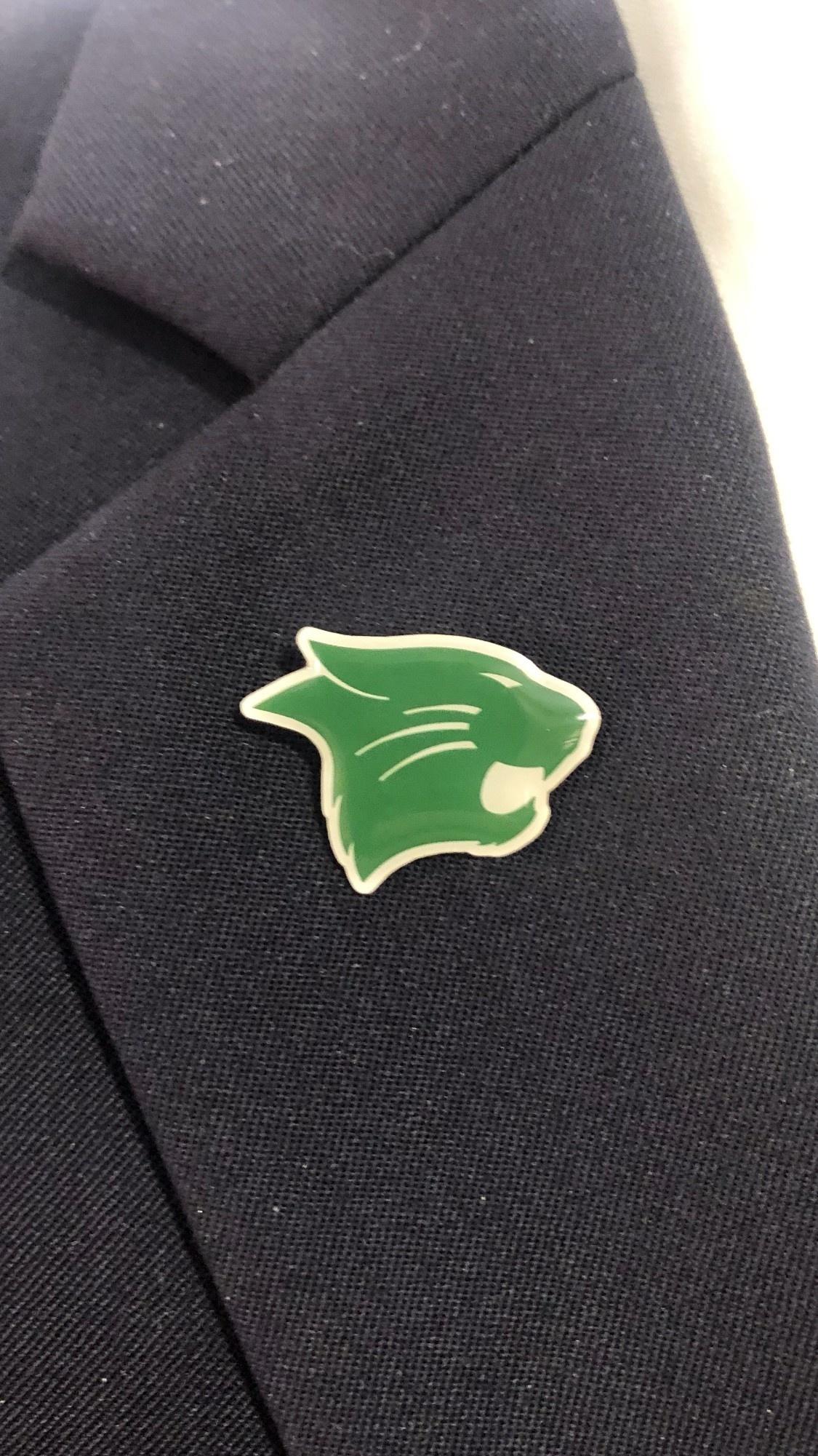 Lapel Pin: Westminster Wildcat Head