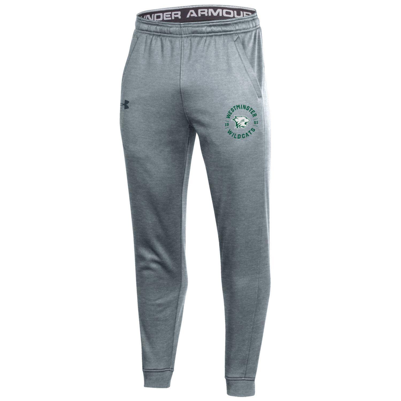 Sweatpants: UA Moisture-Wicking Jogger -Gray