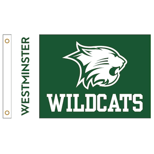 Flag: Large Westminster w/Wildcat