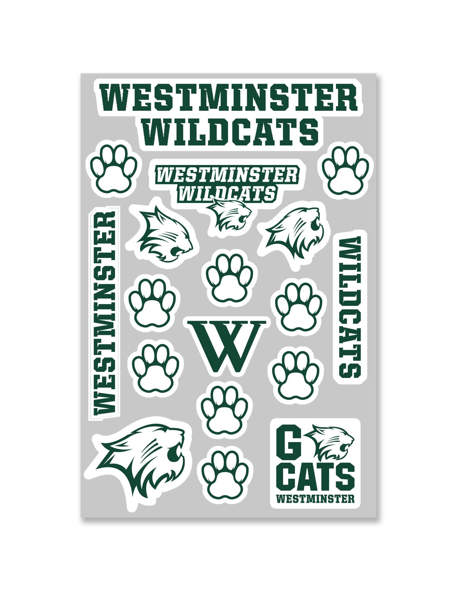 Sticker Sheet: Westminster