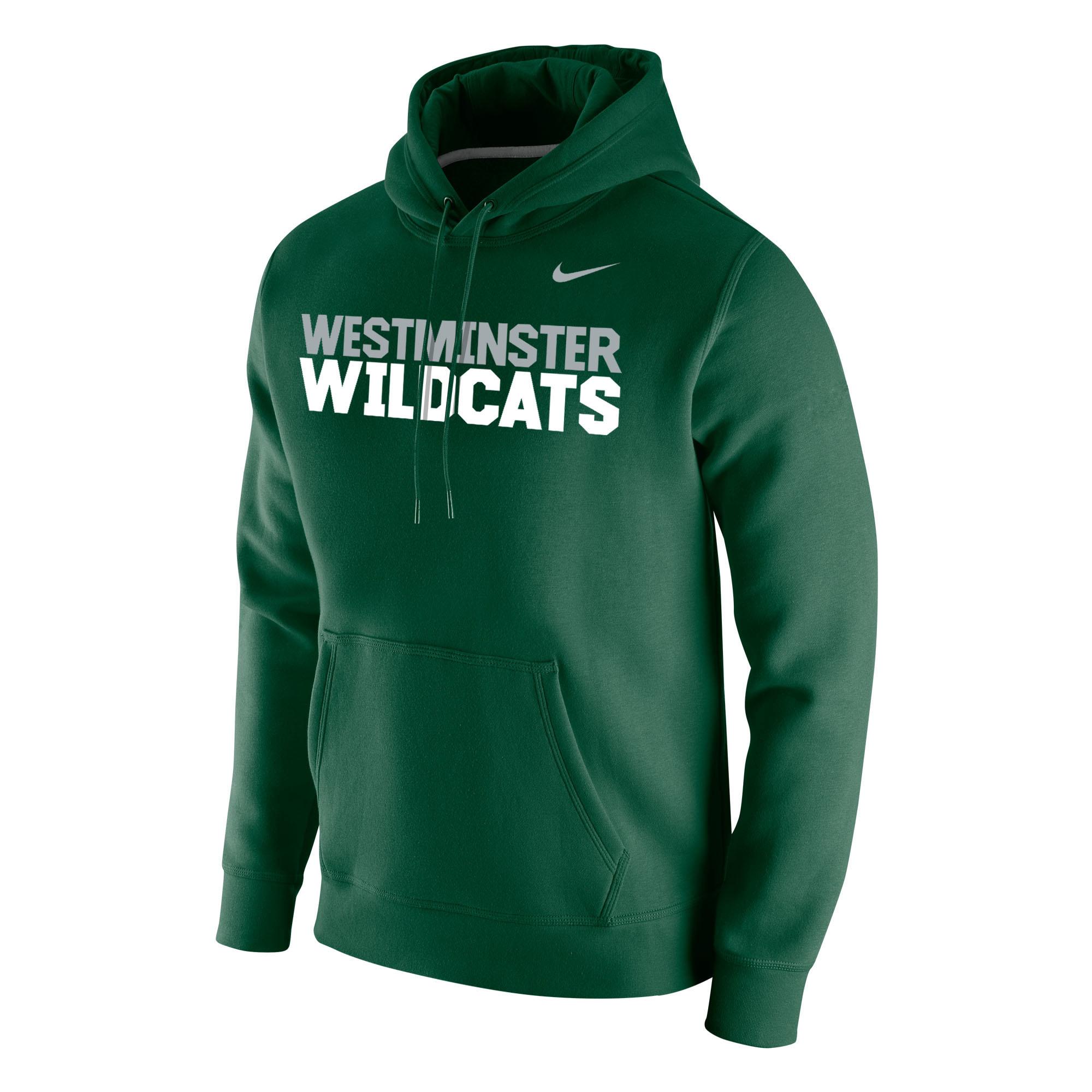 Nike Stadium Club Fleece Hoody w/WM Wildcats
