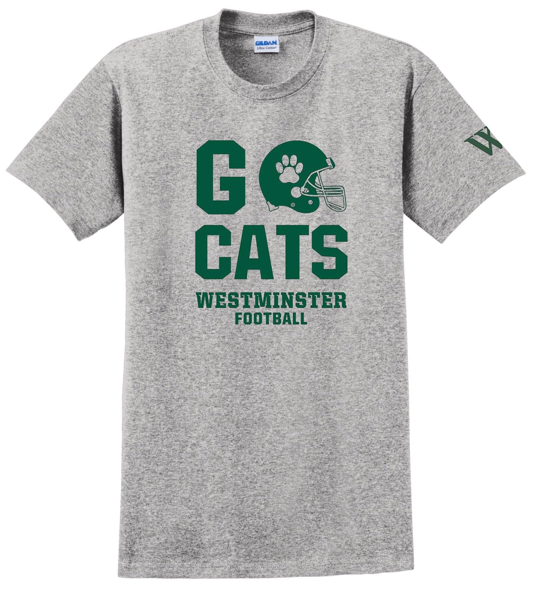 T: Go Cats Football - Youth
