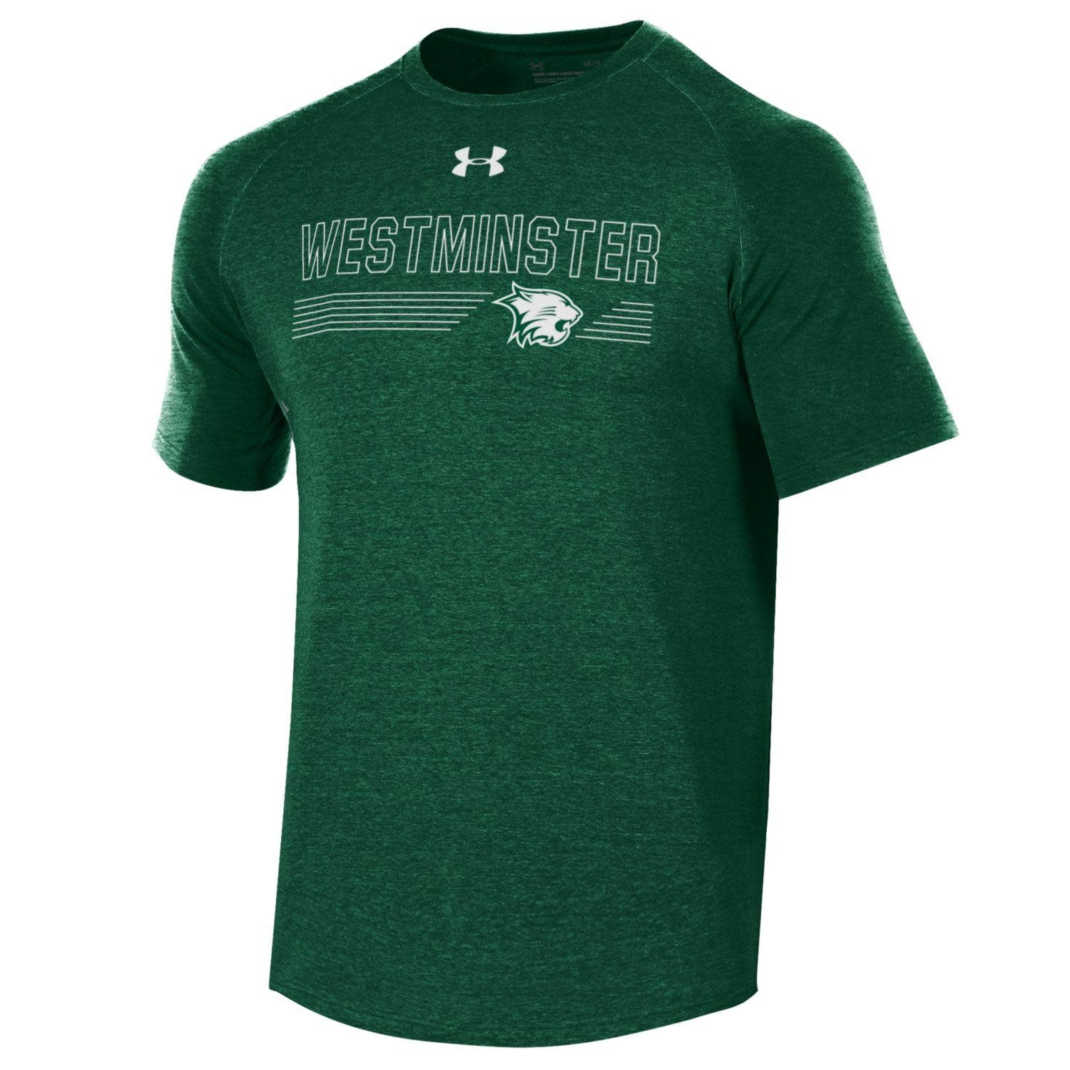 T: Men's Dri-fit Westminster over Lines & Logo