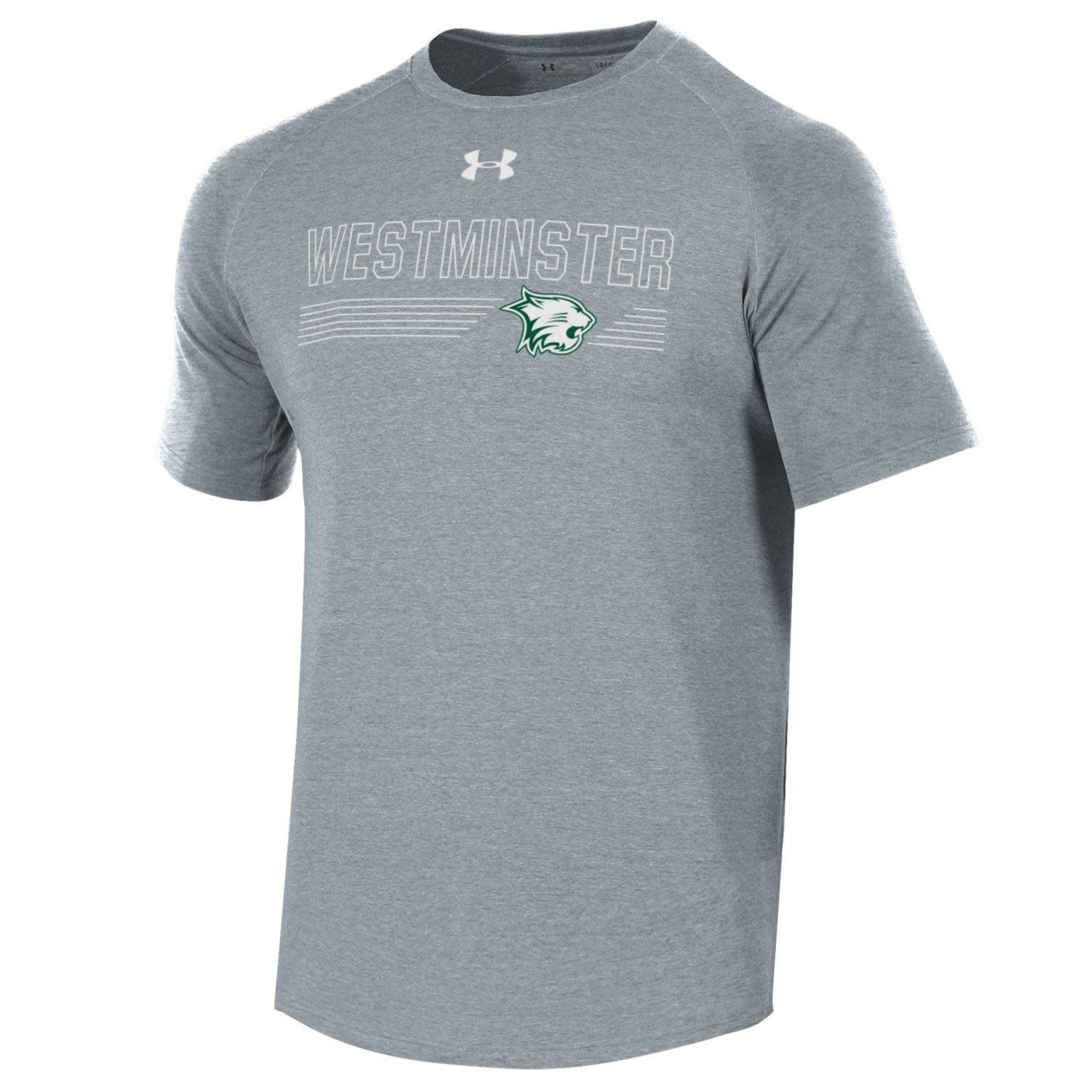 Under Armour T: Men's Dri-fit Westminster over Lines & Logo