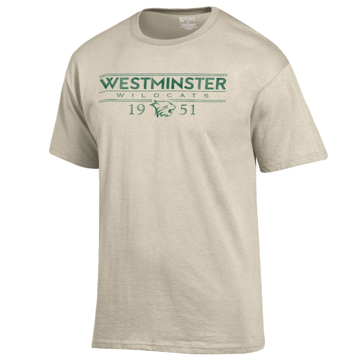 Gear for Sports T: Short Sleeve Westminster Wildcats 1951
