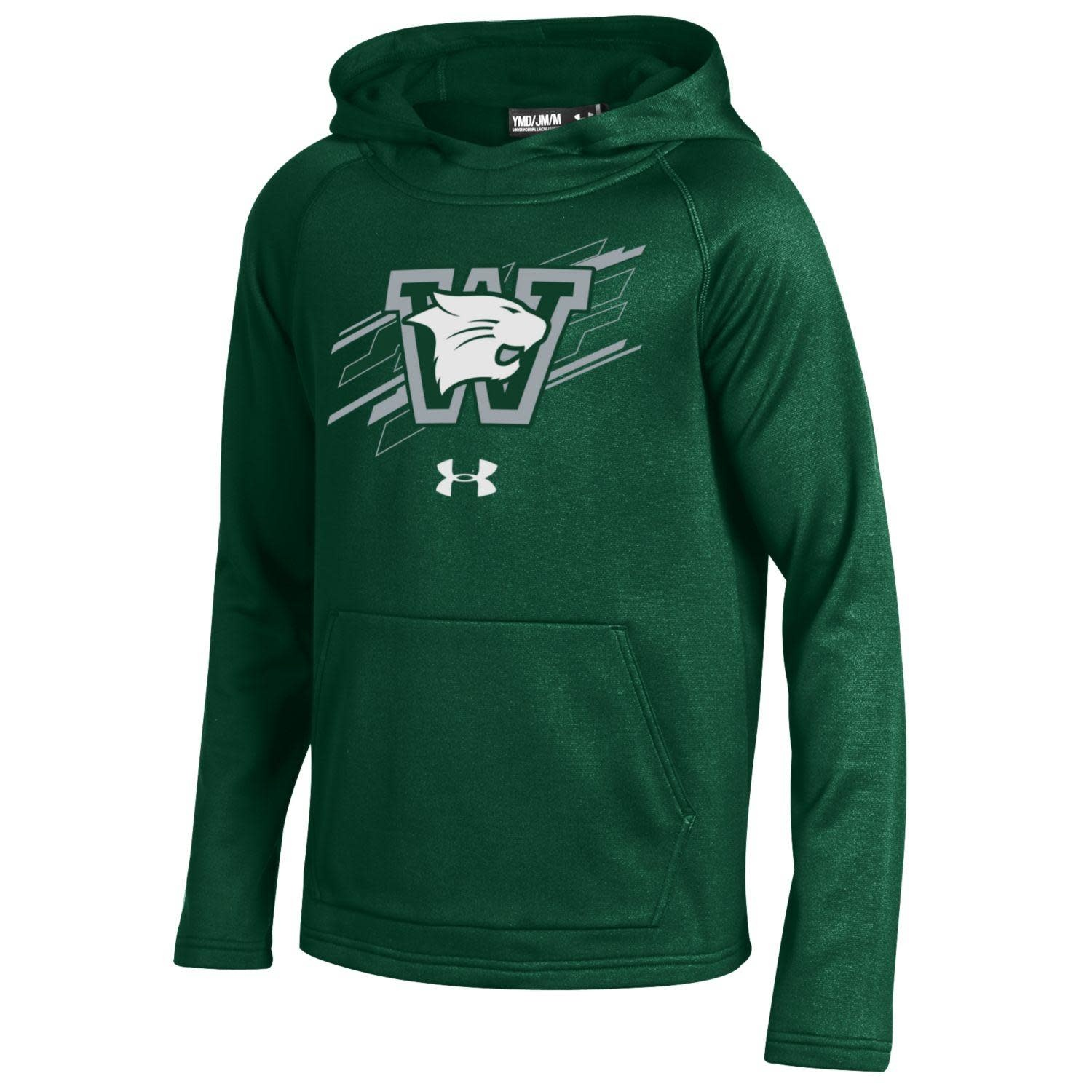 Under Armour Sweatshirt: UA Youth Ninja Hoody - Green