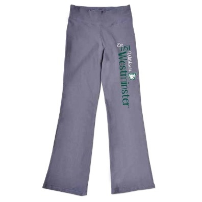 College Kids Pant: College Kids Pewter Girls