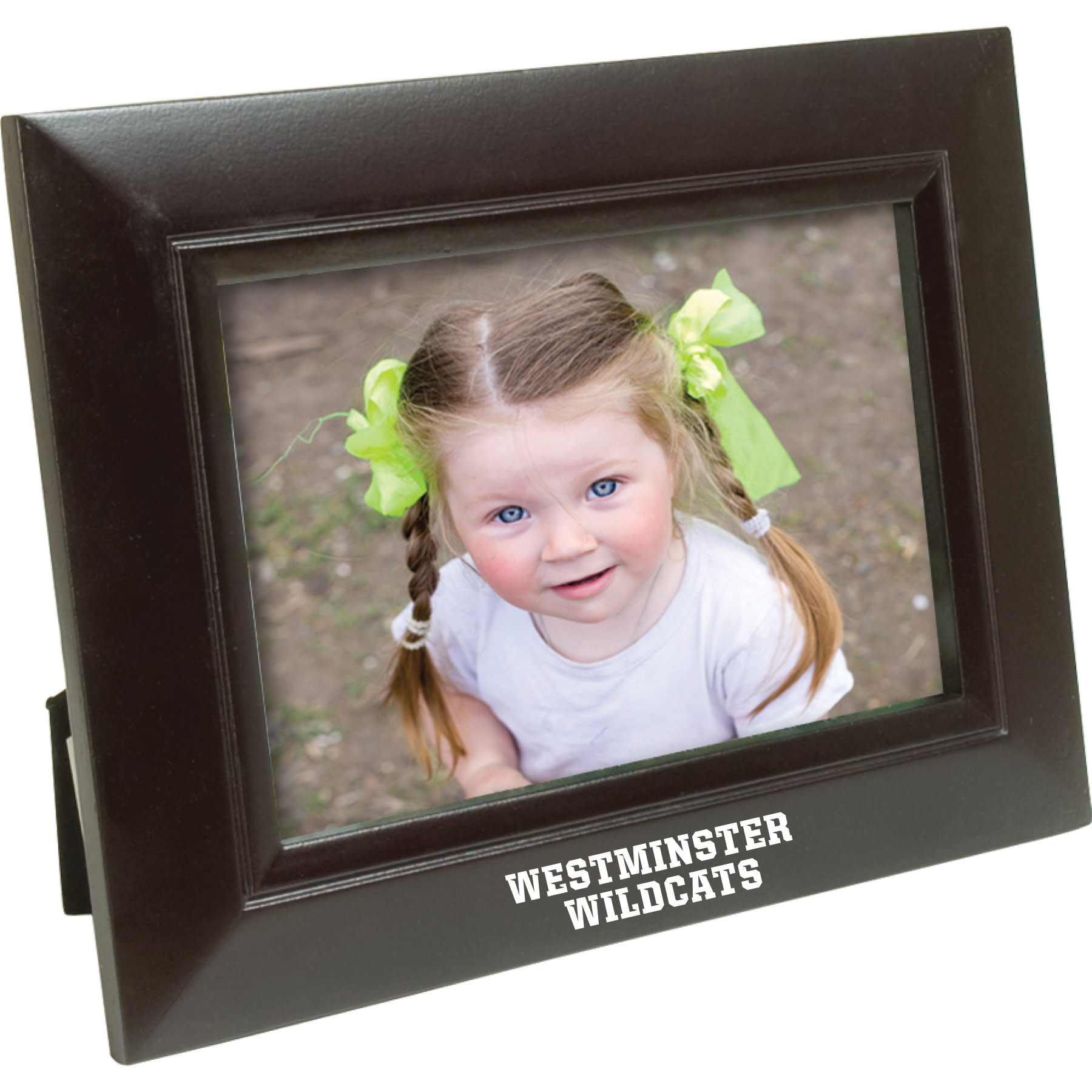 Frame: Wood Westminster Wildcats Black