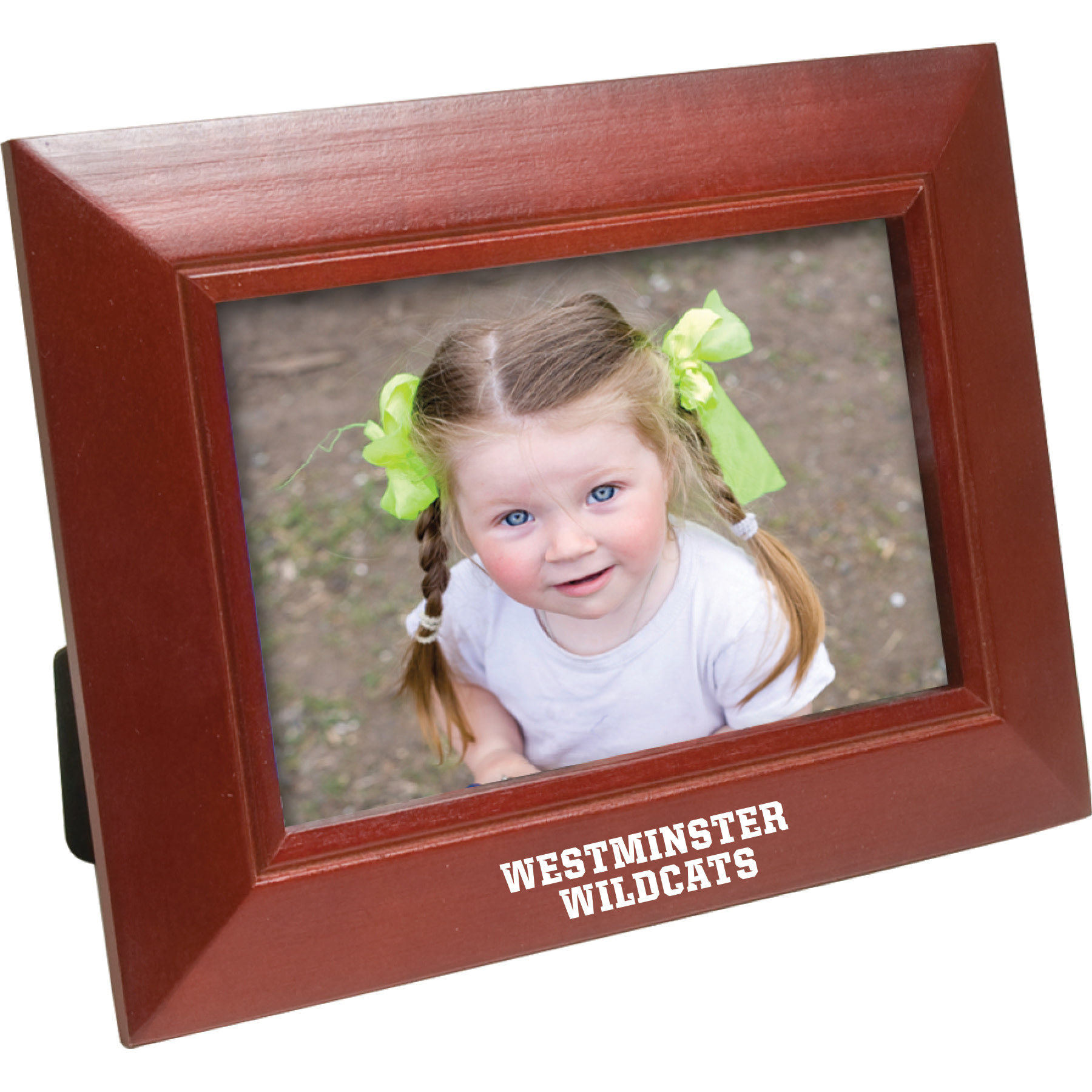 Frame: Wood Westminster Wildcats Walnut