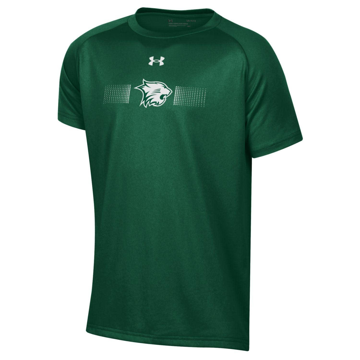 Under Armour T: Boys Tech SS - Green