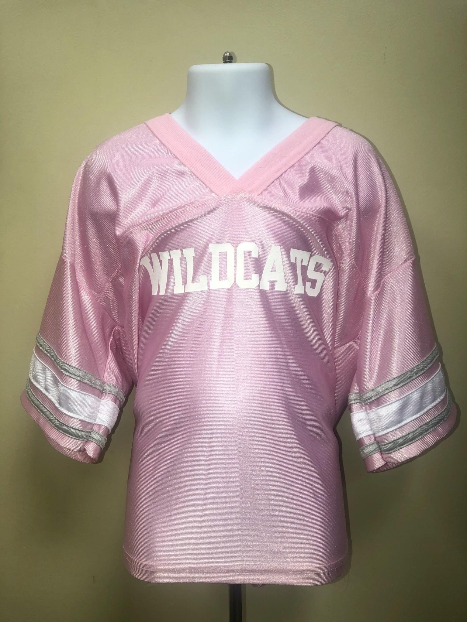 Third Street Sportswear Jersey: Girls Football Pink