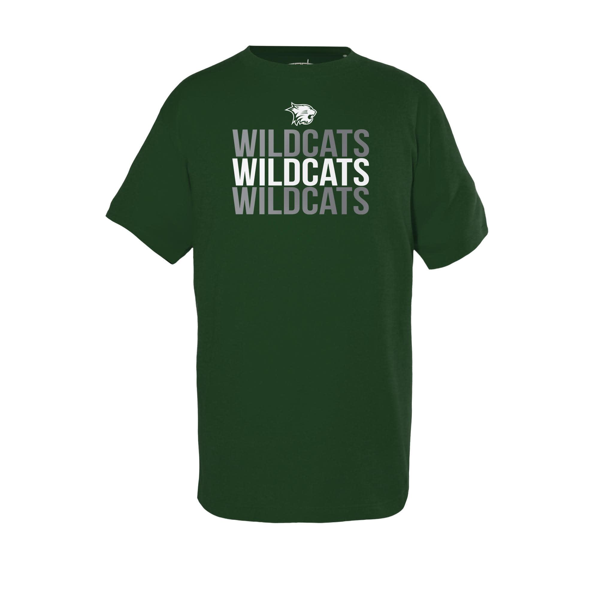 Garb T: Garb Toni Green Wildcats repeating