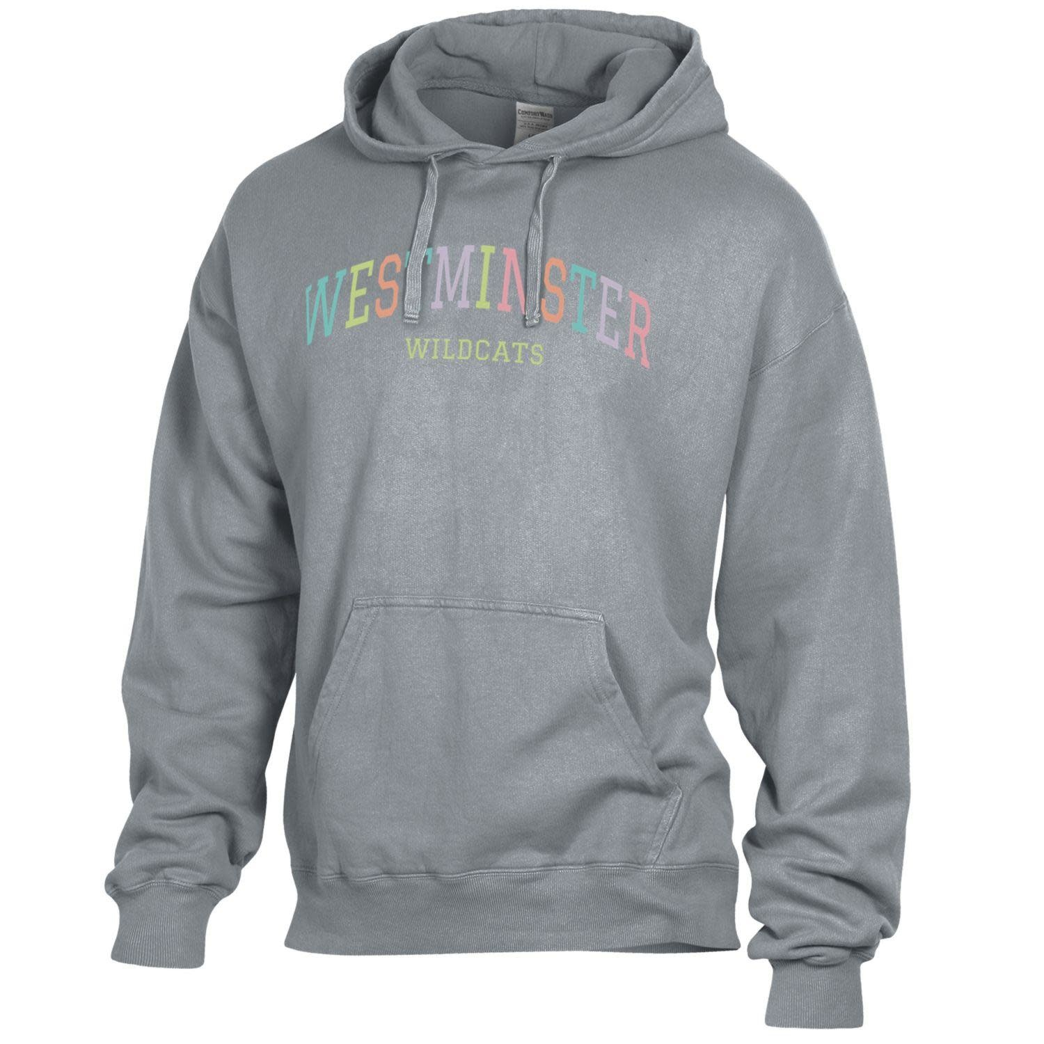 Under Armour Sweatshirt: Comfort Wash Hanes Concrete - Pastel Westminster