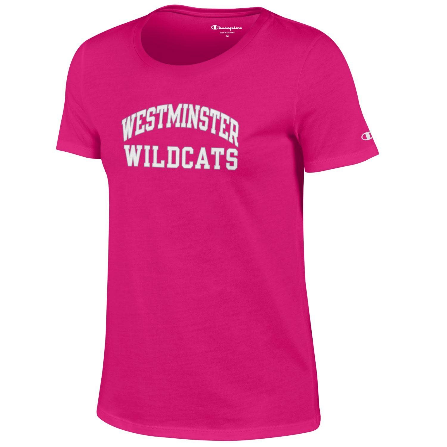 Champion T: Champion Ladies University SS - Knockout Pink