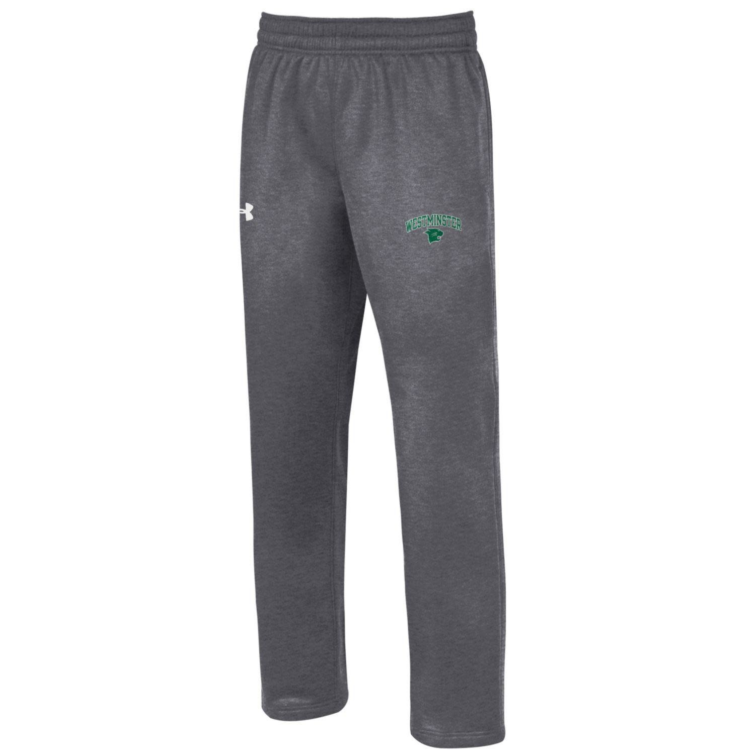 Under Armour Sweatpants: UA Carbon Heather Storm Westminster over Wildcat