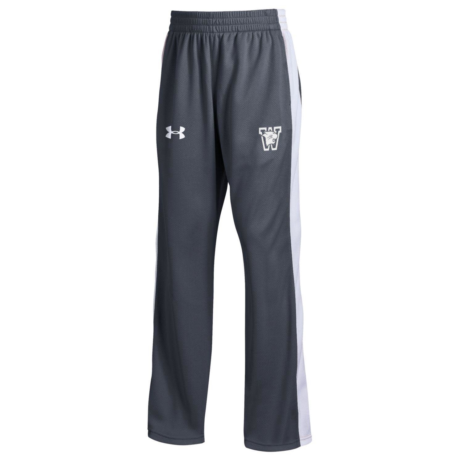 Under Armour Pants: UA Youth Medium Track Pant Charcoal