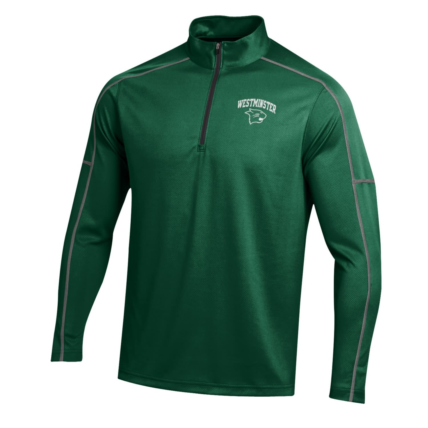 Under Armour Pullover: UA SMU Team Proven Mock - Adult Medium Only