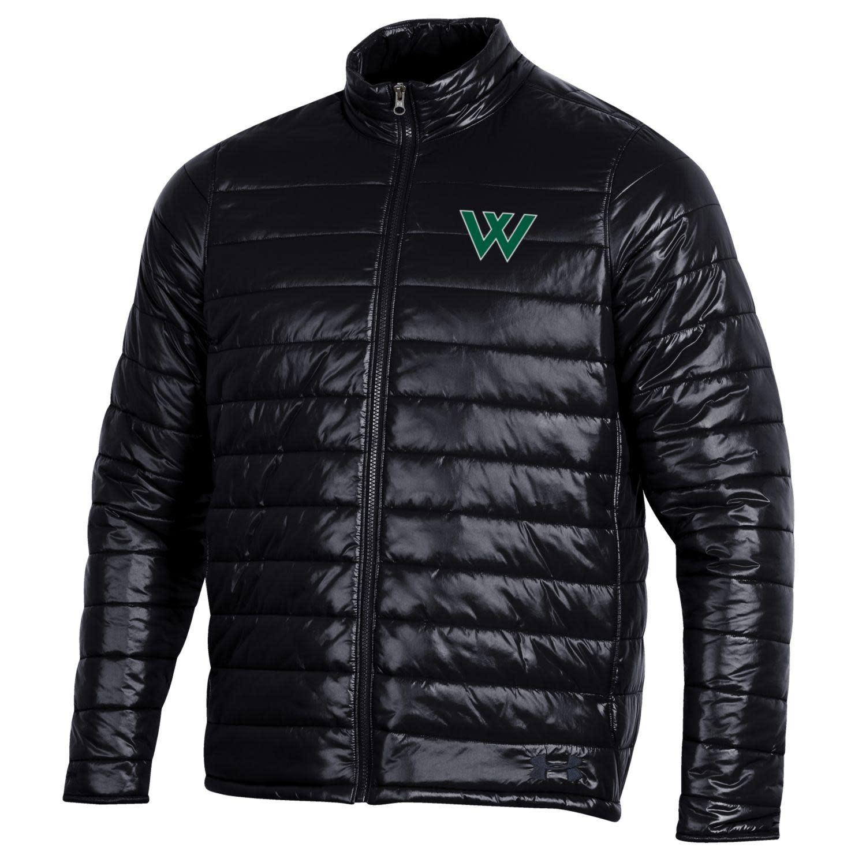 Under Armour Jacket: Men's UA Storm Puffer, Green W