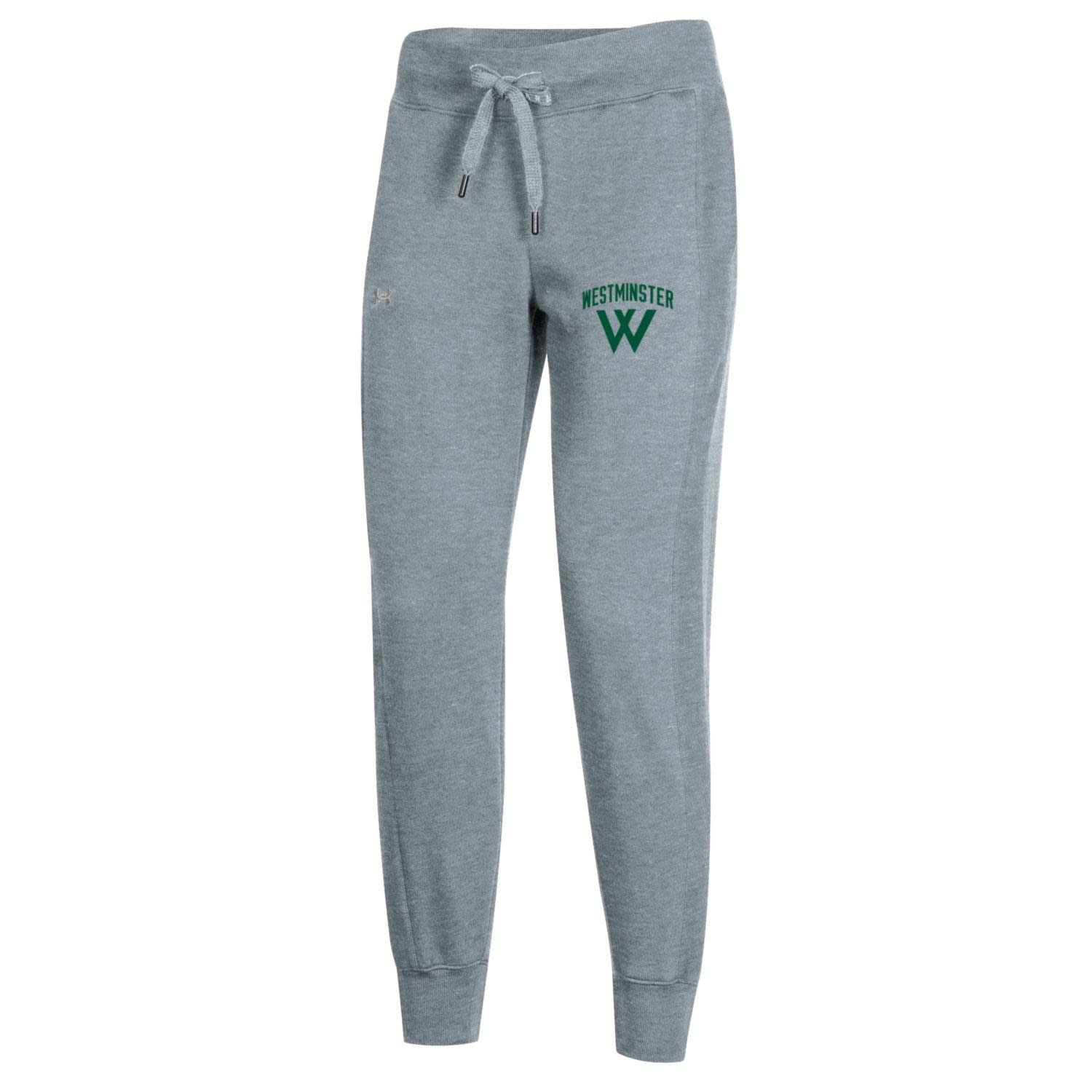 Under Armour Sweatpants: Womens All Day Jogger - True Gray Heather